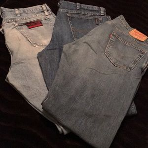 Bundle Deal: Men's Levi Jeans 505 & 2 other brands